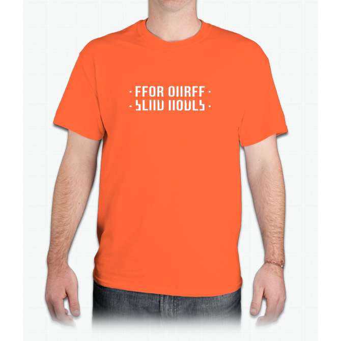 FFOR OIIRFF send nudes funny shirt - Mens T-Shirt