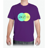 Keytar Platypus Venn Diagram - Mens T-Shirt