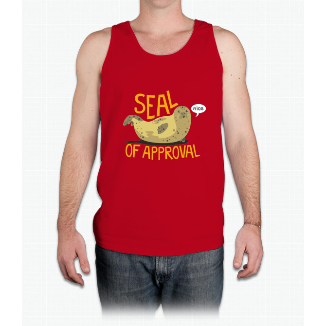 Seal of Approval - Mens Tank Top