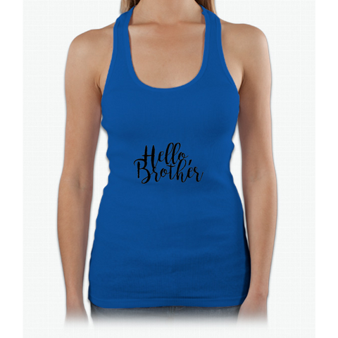 """Hello Brother"" - The Vampire Diaries Womens Tank Top"