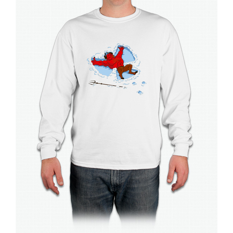 """I Wish I Were"" Snow Devil Long Sleeve T-Shirt"