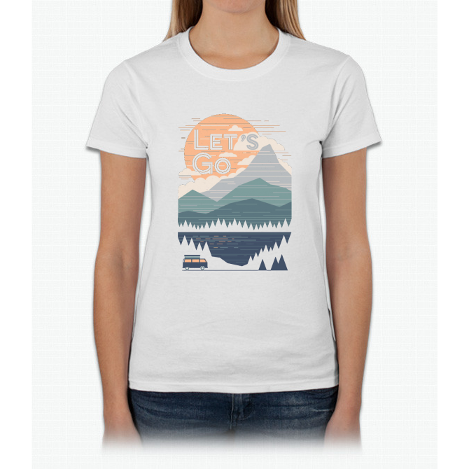 Let's Go Womens T-Shirt
