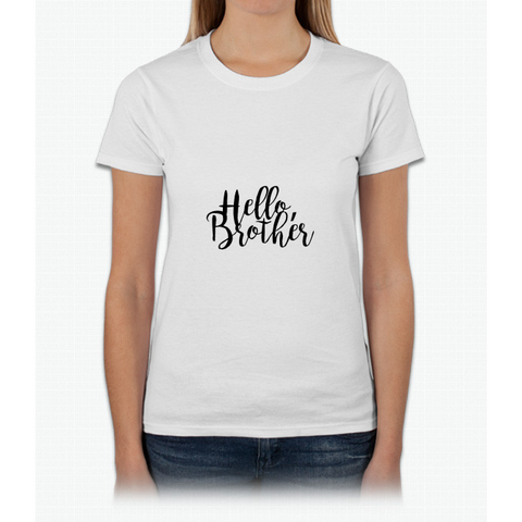 """Hello Brother"" - The Vampire Diaries Womens T-Shirt"