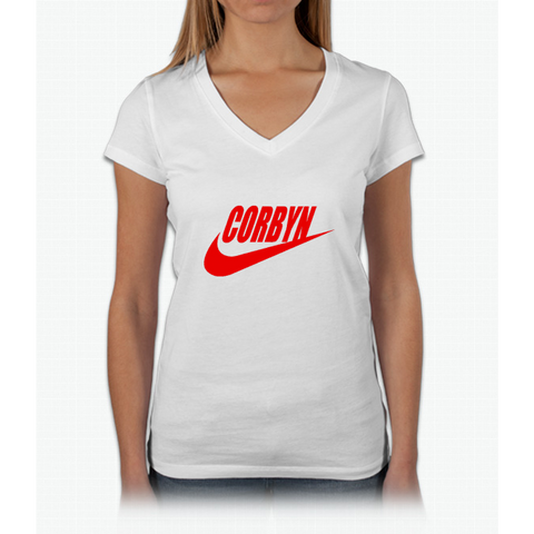 """CORBYN"" Womens V-Neck T-Shirt"