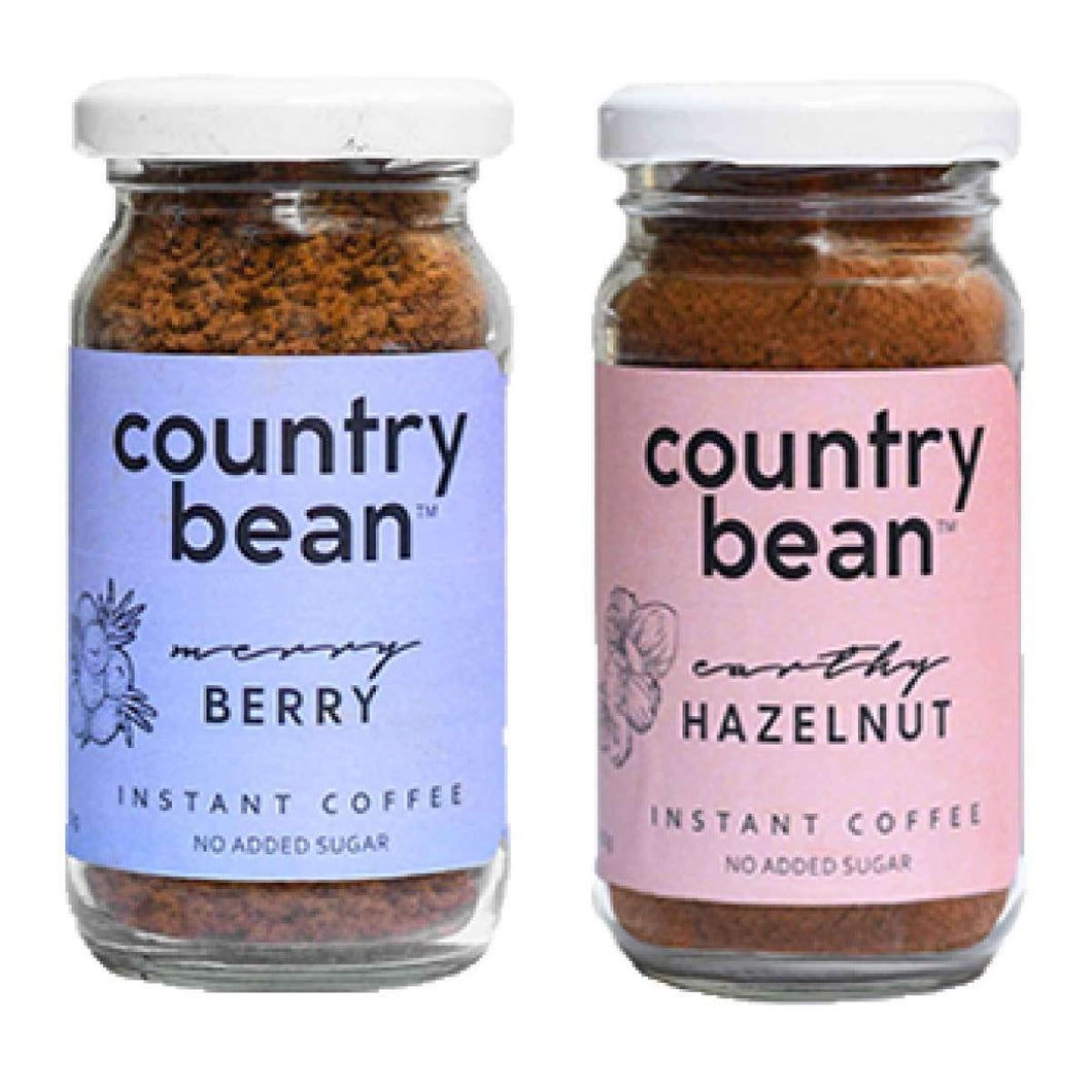 Hazelnut and Berry Instant Coffee