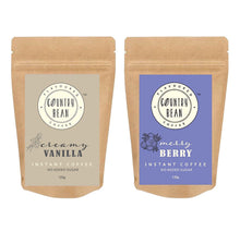 Vanilla and Berry Instant Coffee Combo Country Bean 120g x 2 (120 cups)