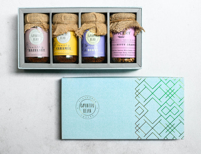 Madison Gift Box - Assorted Coffees & Granola/Trail Mix