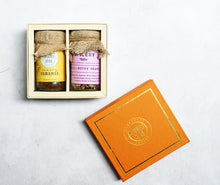 Gramercy Gift Box - Caramel Coffee & Granola/Trail Mix
