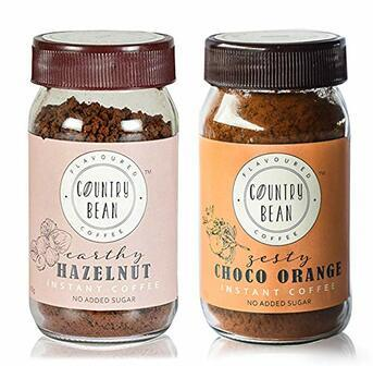 Hazelnut and Orange Instant Coffee Combo Country Bean 60g x 2 (60 cups)