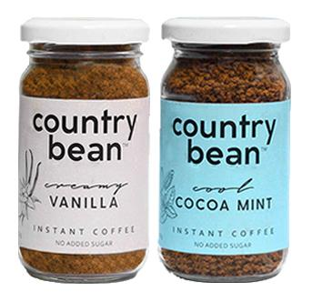 Vanilla and Cocoa Mint Instant Coffee