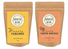 Caramel and Choco Orange Instant Coffee Combo Country Bean 120g x 2 (120 cups)