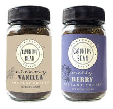 Vanilla and Berry Instant Coffee Combo Country Bean 60g x 2 (60 cups)