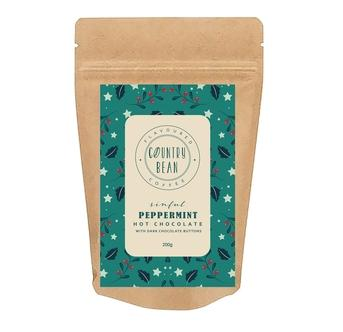 *Season Special* Peppermint Hot Chocolate 200g Food & Beverage Country Bean