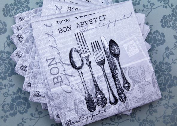 Cutlery Table Napkin Design