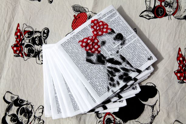Dolly the Dalmatian Table Napkin