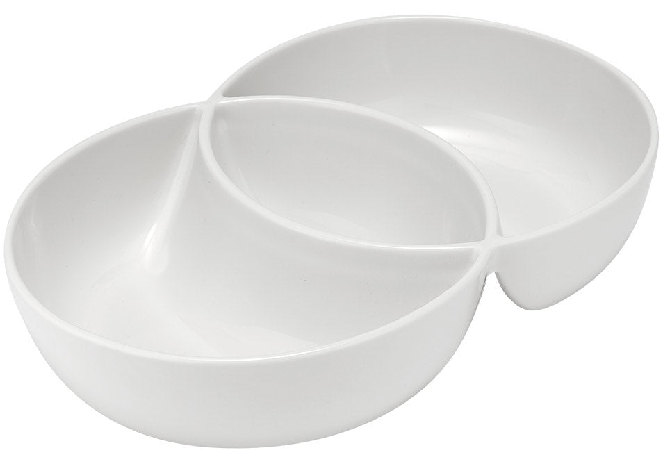 white serving bowls