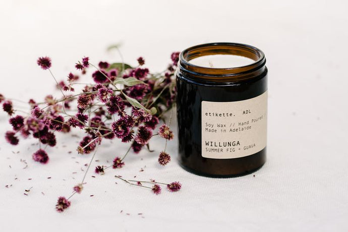 Willunga - Summer Fig & Guava Soy Candles