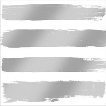 white and silver stripes design