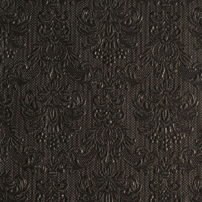 Elegance Black Paper Napkins - Lunch