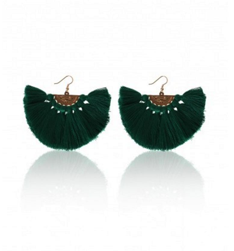 Carly Paiker  Wilder Tassel Earrings