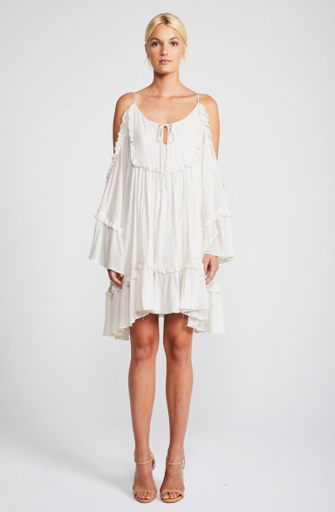 Dazed Open Shoulder Sundance Dress