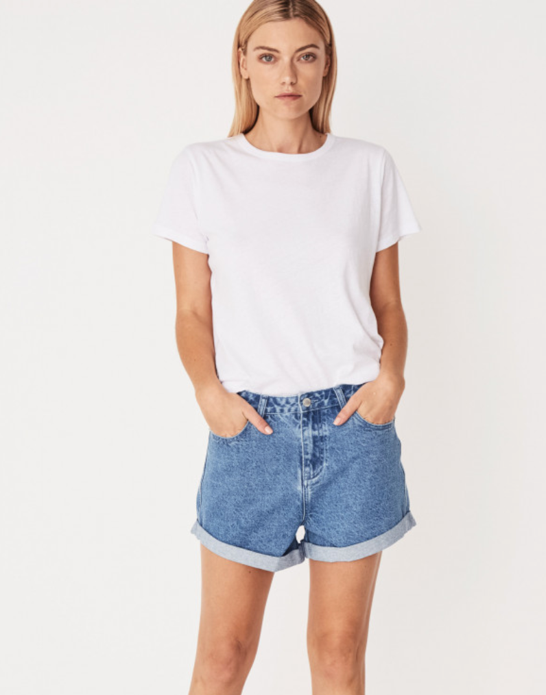 Leisure Denim Short Ashbury Blue
