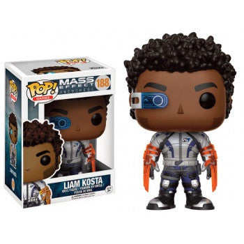 Funko POP! Games Mass Effect Andromeda - Liam Kosta Vinyl Figure