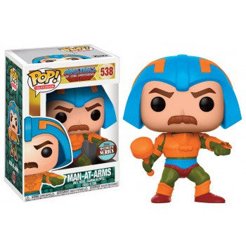 Funko POP! Speciality Series - Masters Of The Universe Man-At-Arms Exclusive
