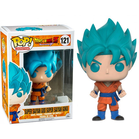 Dragonball Z Resurrection F POP! Super Saiyan God Super Saiyan Goku (Blue)