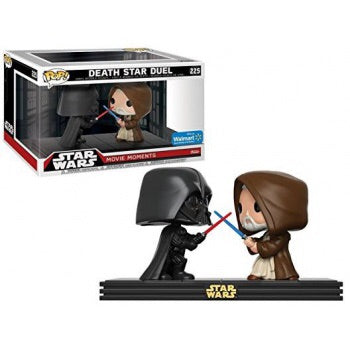 Funko Star Wars: Movie Moments: Darth Vader & Obi Wan Kenobi - Vinyl Figures