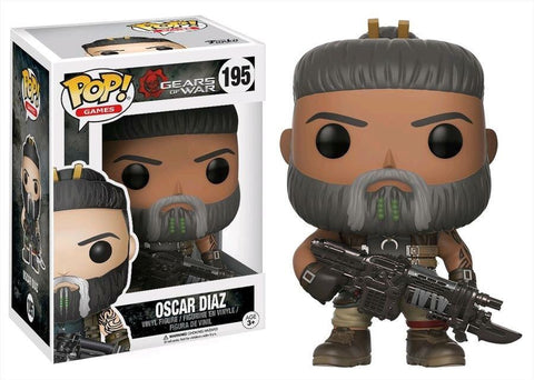 Funko POP! Games Gears Of War Series 2 - Oscar Diaz Vinyl Figure
