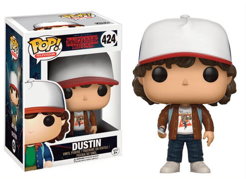 Stranger Things POP! Television Vinyl Figure Dustin (Brown Jacket) 9 cm