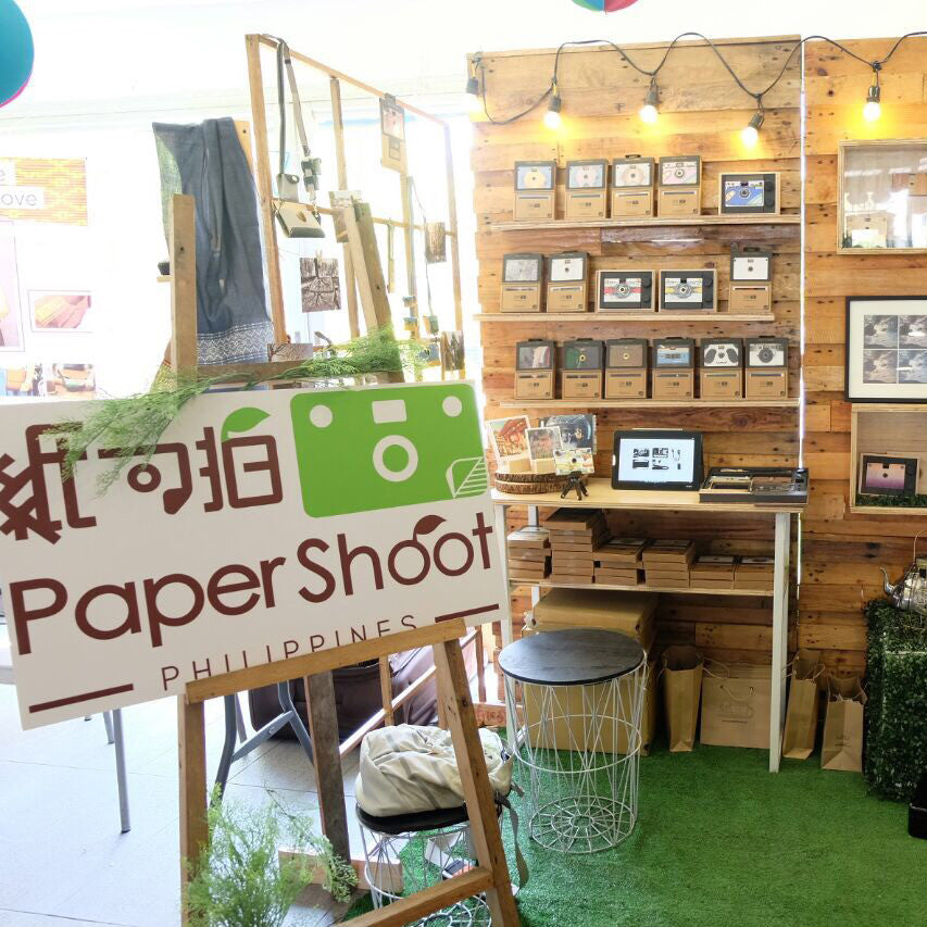 Paper Shoot Philippines Launches with Bazaars in Metro Manila