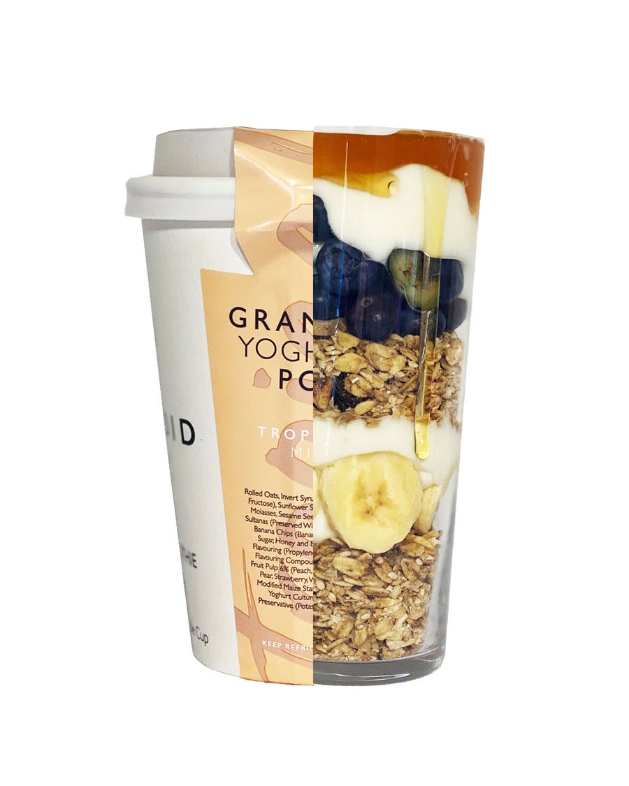 Tropical Mix Granola Yoghurt Pot