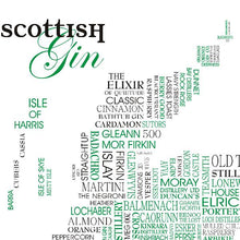 Scottish Gin Sat Nav Print