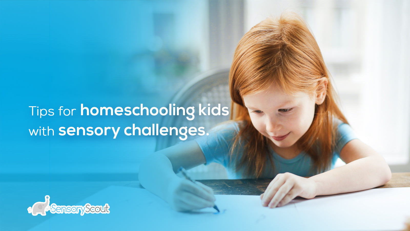 Tips For Homeschooling Kids With Sensory Challenges