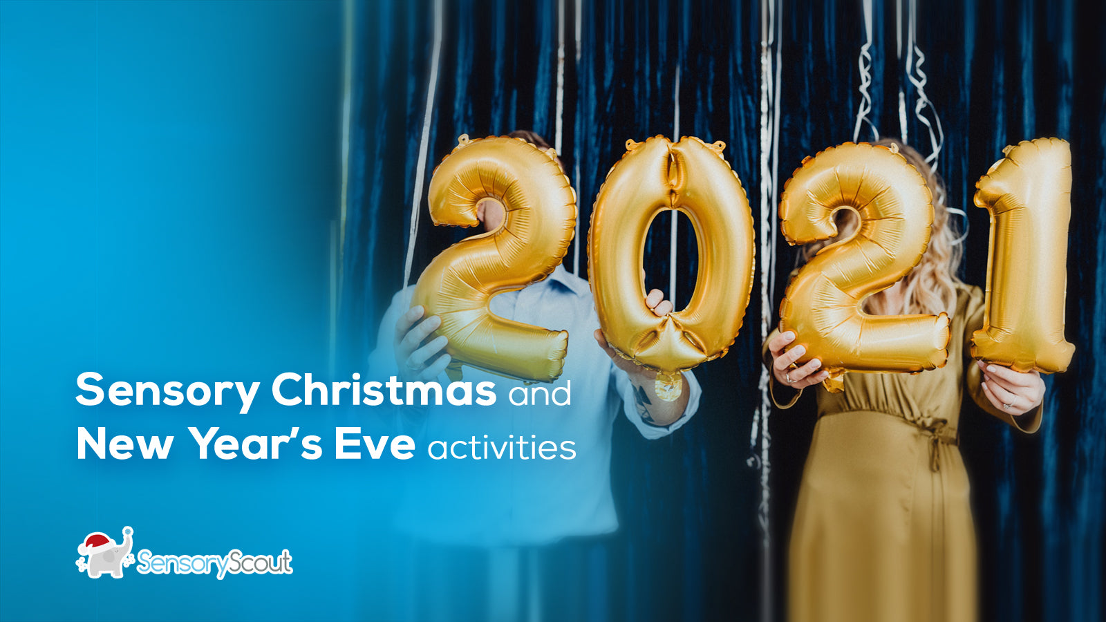 Sensory Christmas and New Year's Eve Activities