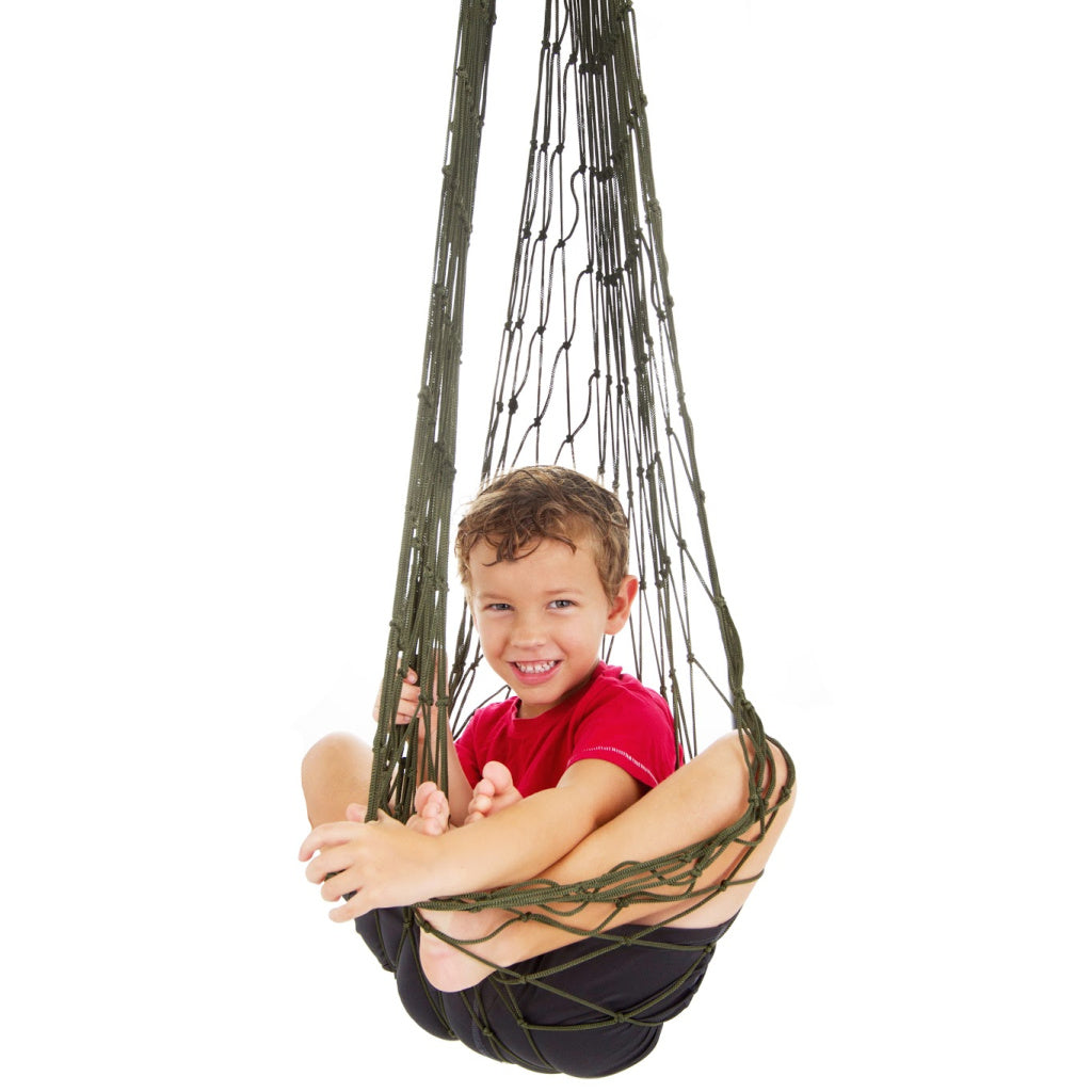 Autism Swing or Therapy Swing pink Great as a Hanging Pod Swing Sensory Swing for Kids Includes Hardware Indoor Swing for Kids Bedroom or Sensory Room