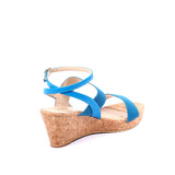 Chunky Strap Cork Wedges