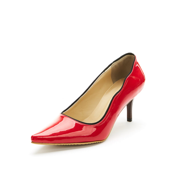 Talia Scalloped Pumps