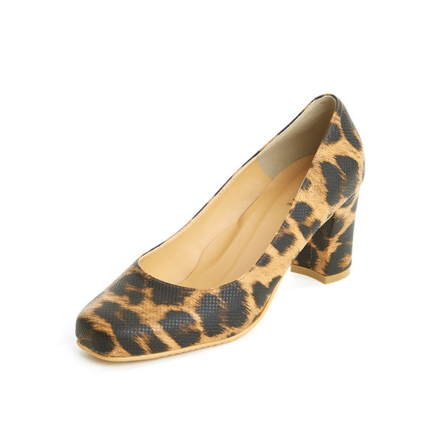 Leopard Block Pumps