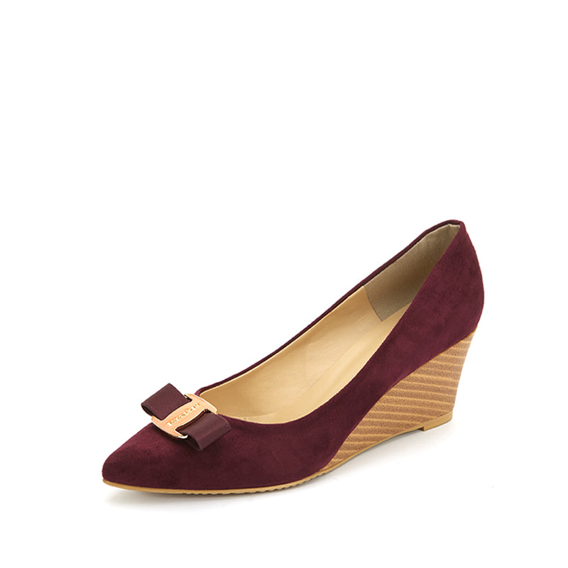 Elora Pointed Toe Wedge
