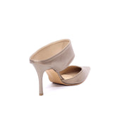 Point Toe Stiletto Mules