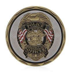 ST Michael Police Coin