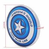America's Shield Thin Blue Line Blue Line Coin