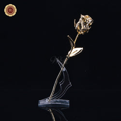 24K Real Gold Dipped Rose