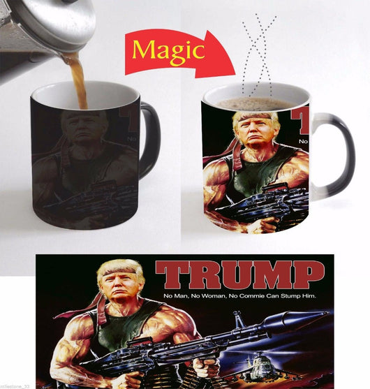 Donald Trump heat changing color mug