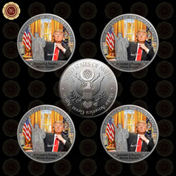 5 PCS Donald Trump Coin