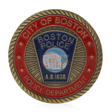 Boston Police Challenge Coin