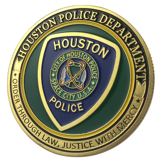 Houston Police Department Challenge coin